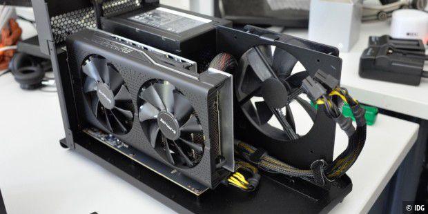 eGPU Razer Core X im Test: Günstiger und vielseitiger als
