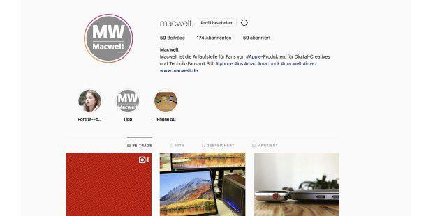 Instagram Auf Dem Mac Nutzen Macwelt - Minecraft server erstellen fur mac