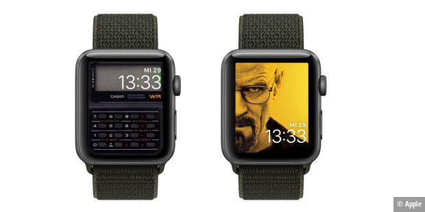 Apple watch eigener hintergrund