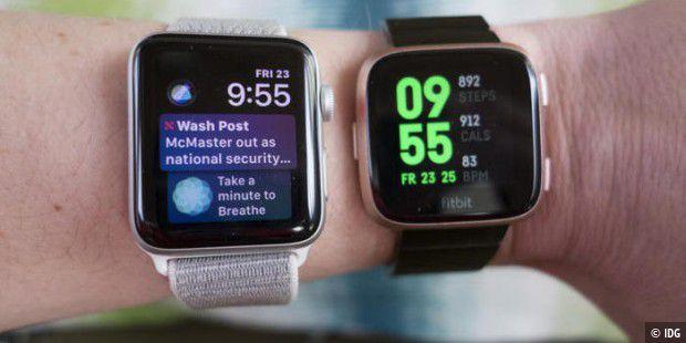 Das kann die Apple Watch Series 4 von Fitbit lernen - Macwelt
