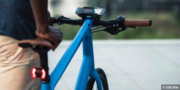 COBI.Bike: Smarter Fahrradcomputer mit viel Licht und kaum Schatten ...
