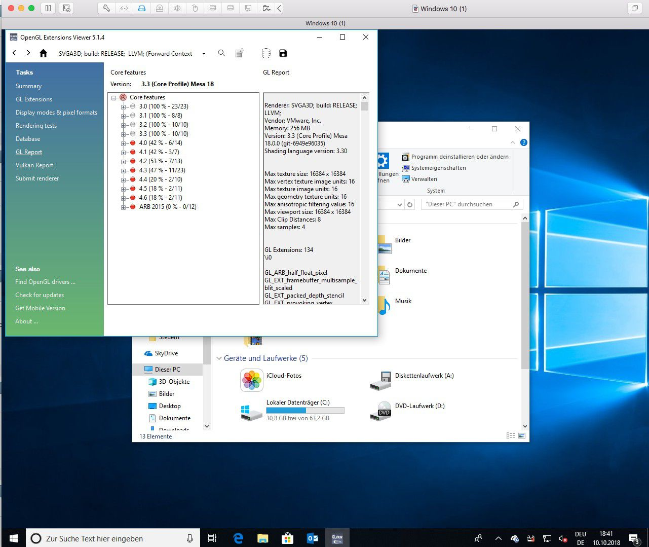 Windows am Mac: Parallels Desktop 14 und Vmware Fusion 11 im