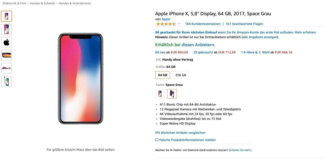56461a5f3d0786 Kooperation: Apple verkauft iPhones und Macs über Amazon - Macwelt
