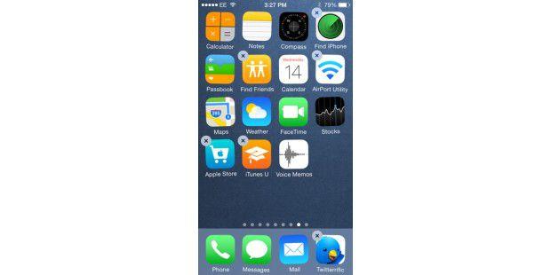 iphone x app löschen