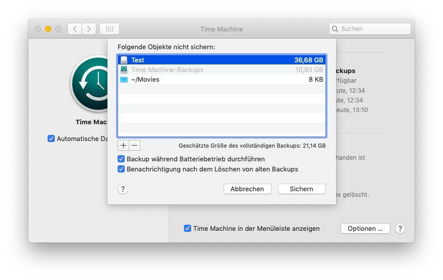 Backup Mit Time Machine So Sichert Man Seine Daten Gegen Verlust