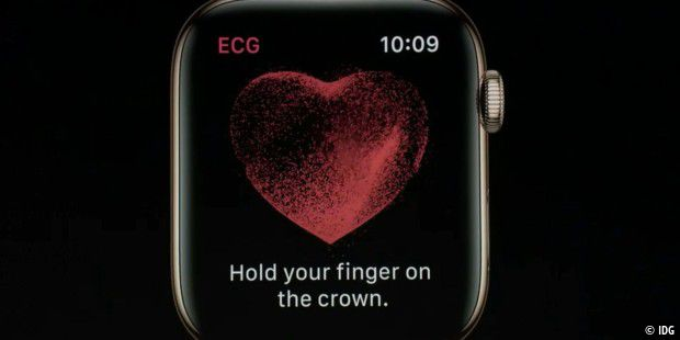 EKG in der Apple Watch
