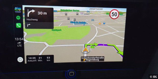 Sygic Car Navigation auf Carplay