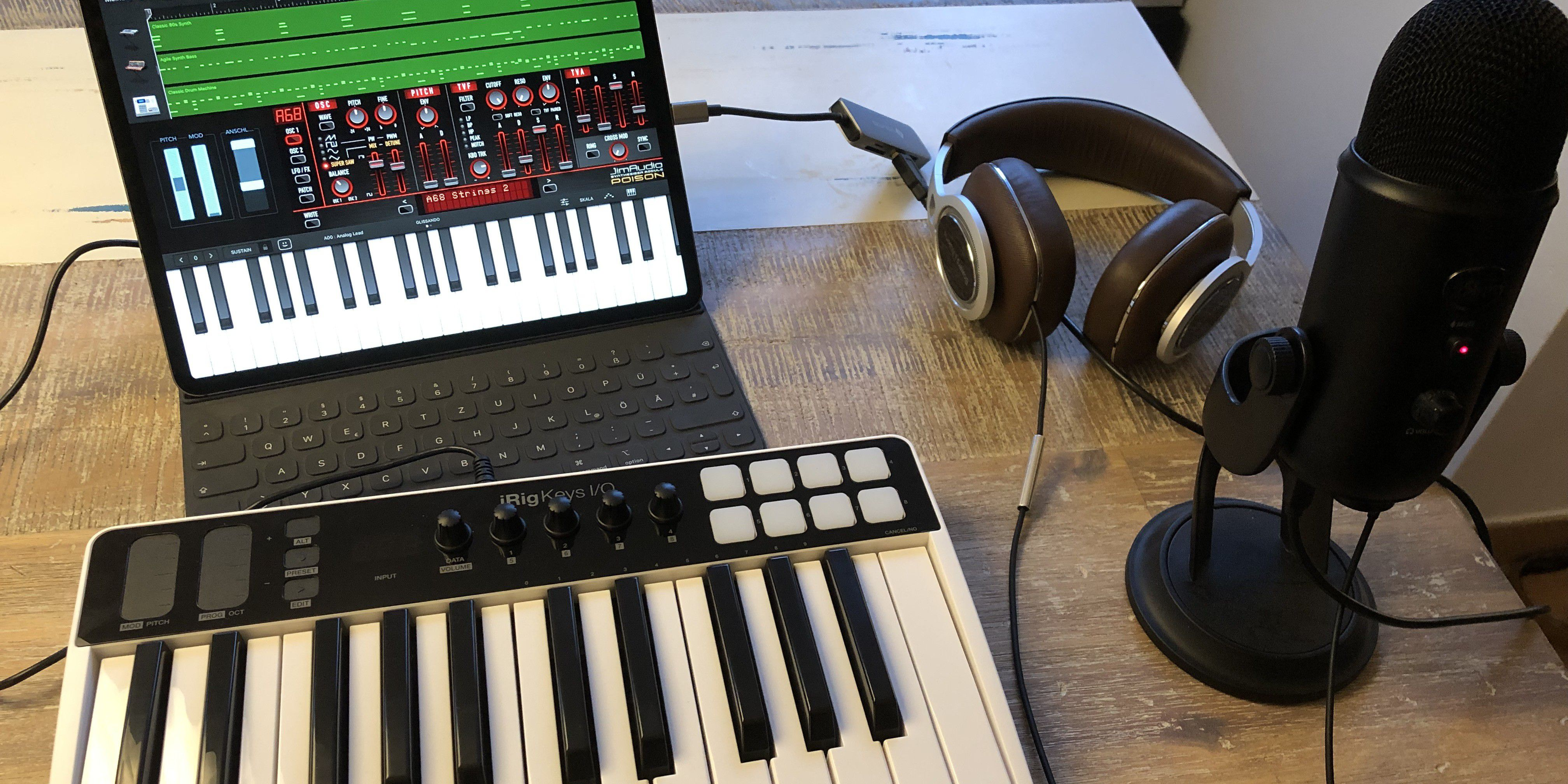 Das Ipad Pro Fur Kreative Teil 3 Audioproduktion Macwelt