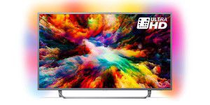 Nur morgen: Philips Ambilight 65 LED-TV für 700 Euro