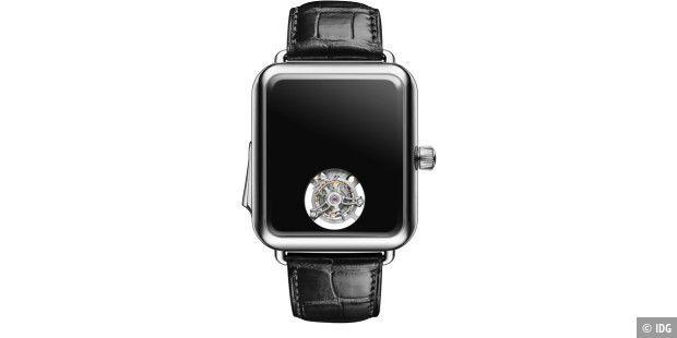 Luxus Uhr Im Apple Watch Design Ohne Zeitanzeige Macwelt