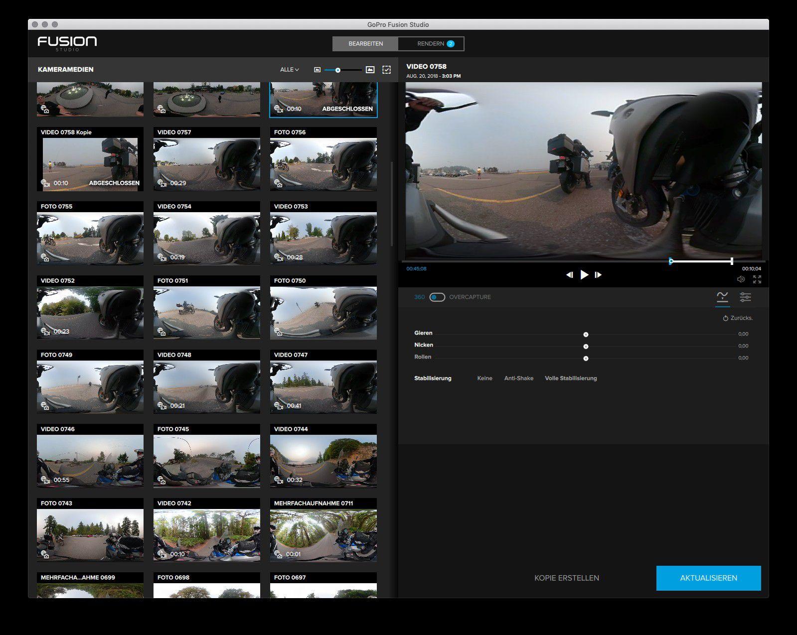 GoPro Fusion im Test: Faszination 360-Grad-Video - Macwelt
