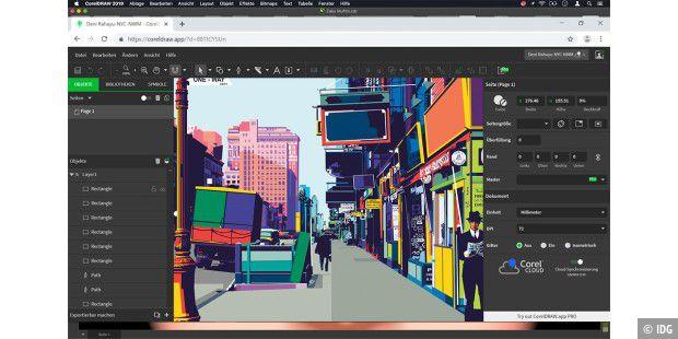 Coreldraw Graphic Suite 2019 Auch Für Den Mac Macwelt