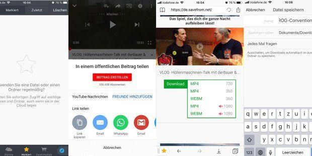 Youtube-Videos kostenlos downloaden – auf Mac, iPhone und