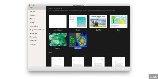 Pages For Ipad Verwenden Von Pages Vorlagen
