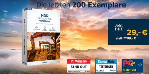 Sonderangebot: Franzis HDR projects 2018 professional