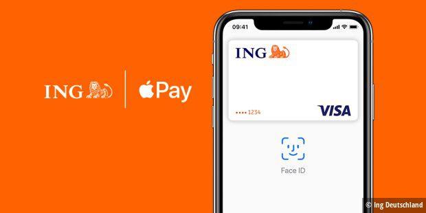 ING Deutschland schaltet Apple Pay frei