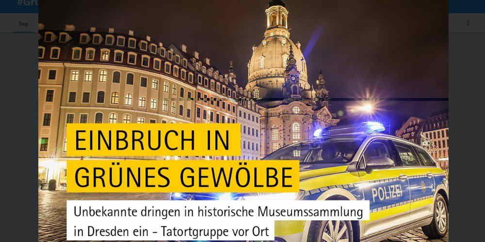 Polizei Dresden Twitter