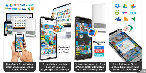 iPhone-Fotos ohne iTunes und iCloud synchronisieren