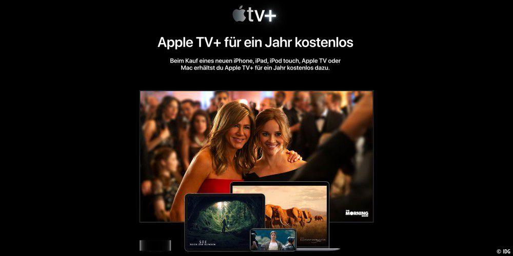 Gratis Jahr Apple Tv+