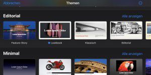 Pages, Numbers, iMove nun mit Trackpad-Support am iPad