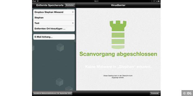 Virusbarrier von Intego war eine der ersten Antiviren-Apps für iOS.