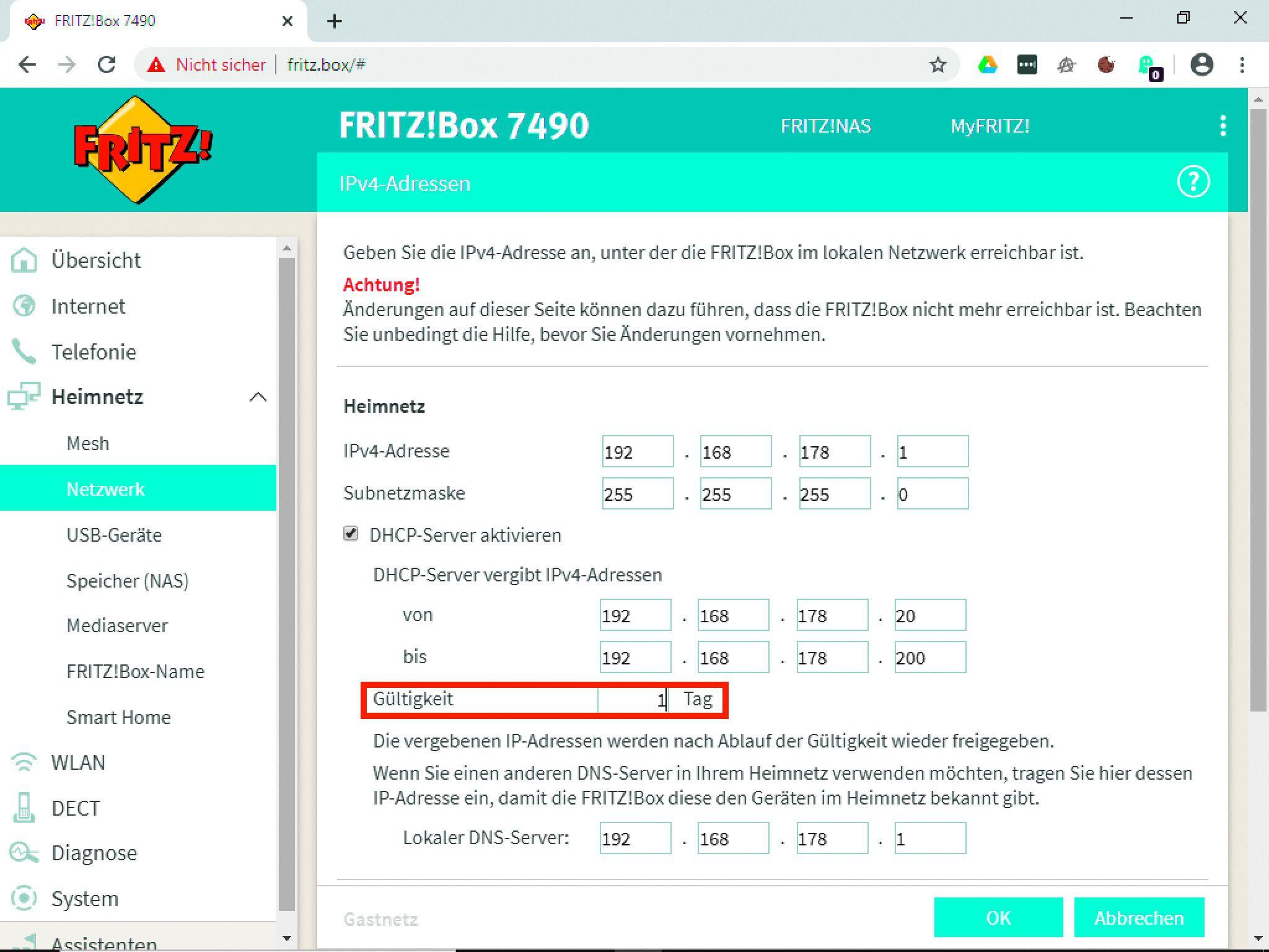Fritzbox Geräte Entfernen