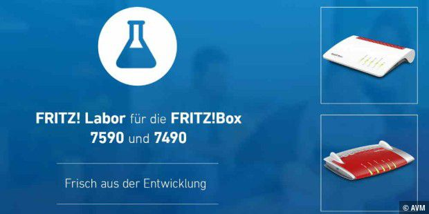 Fritzbox Labor 7490