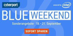 iMac, iPad, Macbook Pro: Blue Weekend bei Cyberport