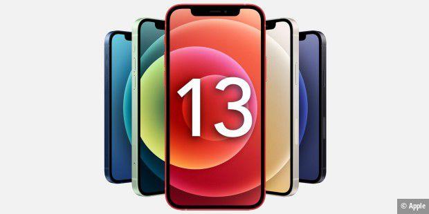 Wie viele Modelle plant Apple für das iPhone 13?
