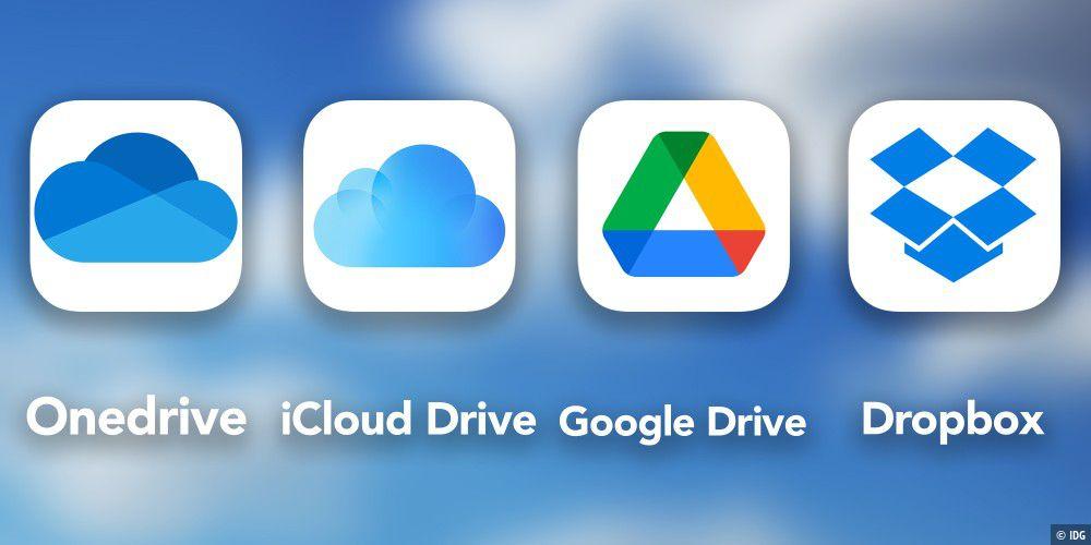Onedrive, iCloud Drive, Google Drive und Dropbox im Vergleich - Macwelt